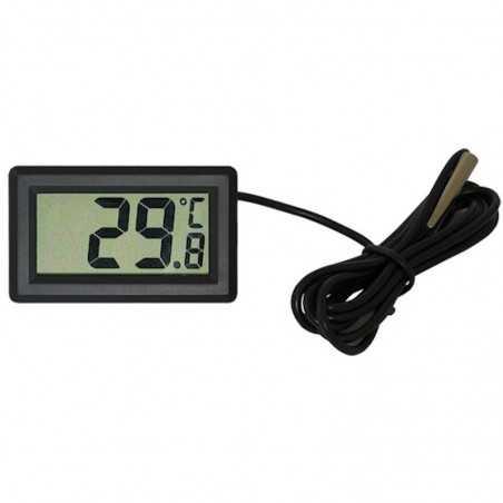 Elektroninis termometras su LCD