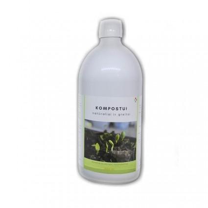Komposto gamyba, kompostavimo pagreitintojas,  Komposto skatintojas, Kompostavimo pagreitinimas, Komposto bakterijos.
