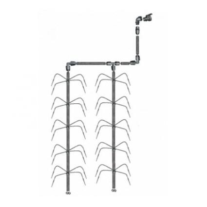 Vandentiekinio laistymo sistema Keturkojis 15 m